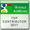 Google AdWords Top Contributor 2011
